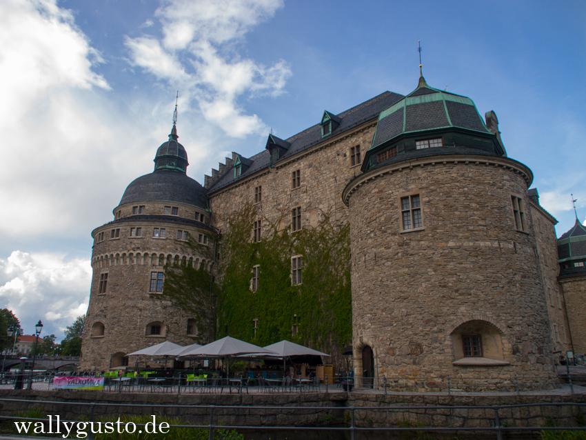 Das Schloss in Örebro