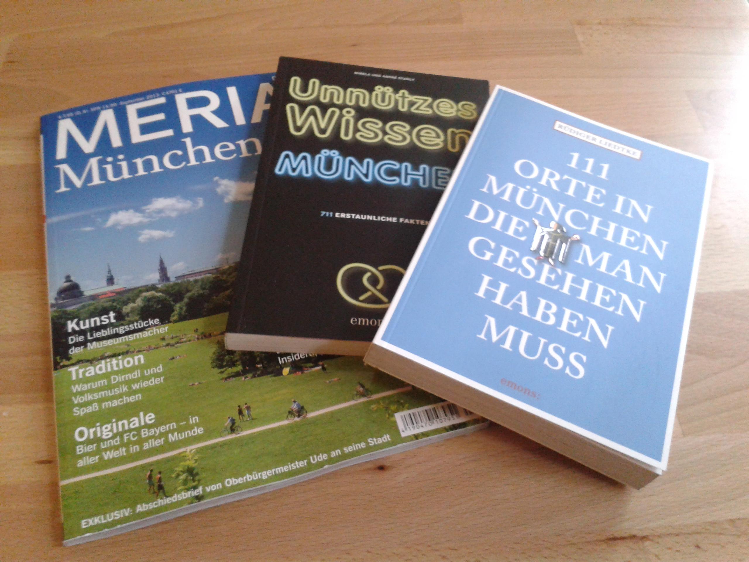 Dreierlei Lesenswertes über München! {Buchvorstellung}