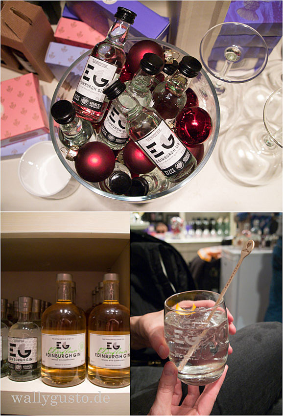 Christmas Pop Up Bar Edinburgh Gin