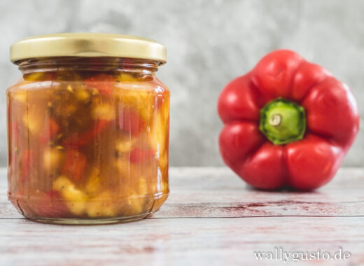 Ananas Paprika Chutney | Rezept auf www.wallygusto.de