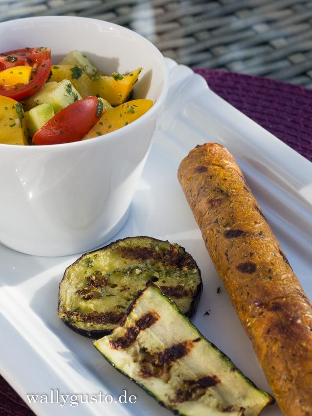 "Veggie-Bratwurst ""Asia-Style"""