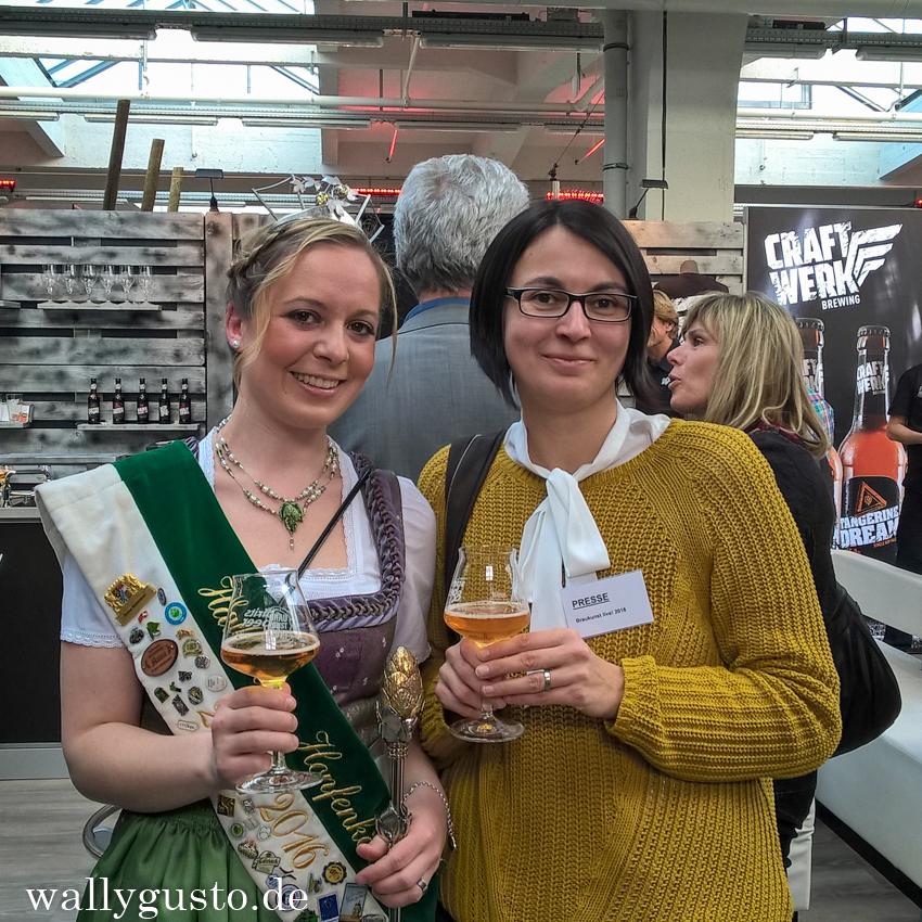 Braukunst Live 2016 Meet & Greet mit der Hallertauer Hopfenkönigin