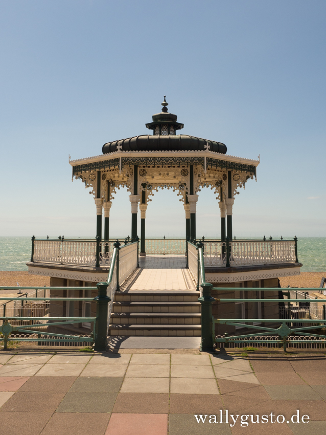 Bandstand in Brighton | Brighton Travel Guide auf www.wallygusto.de