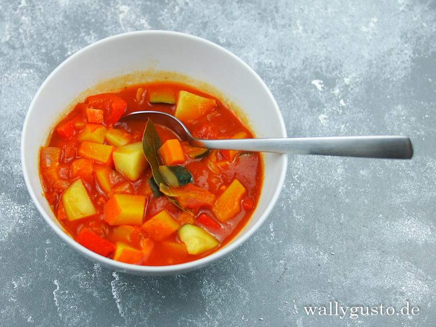 Bayerischer Gemüseeintopf | Rezept auf www.wallygusto.de