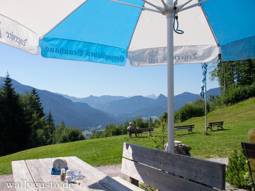 Berggasthaus Riederstein Aussicht