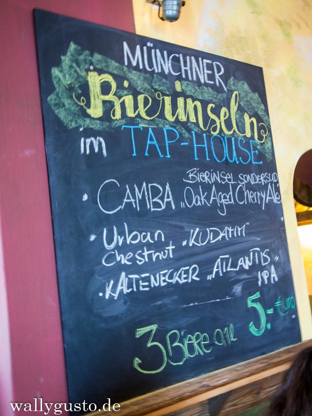 Bierinseln Tap House Biere