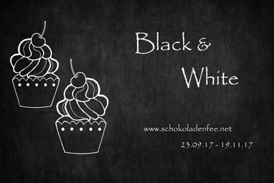 Schokokuchen mit Szechuanpfeffer & Basilkum - Happy Birthday, liebe SchokoladenFee! #SchokoladenFeeEvent #BlackAndWhite