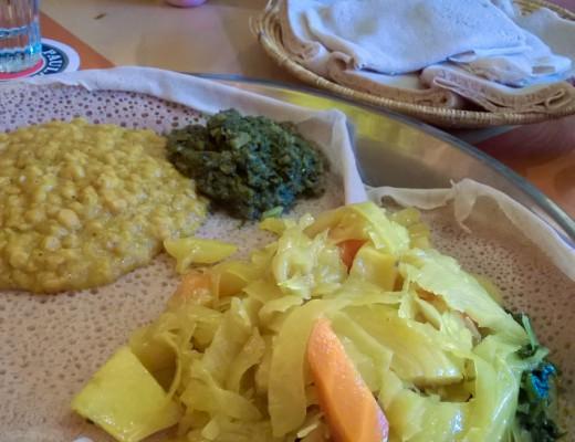 Blue Nile vegetarisches Hauptgericht