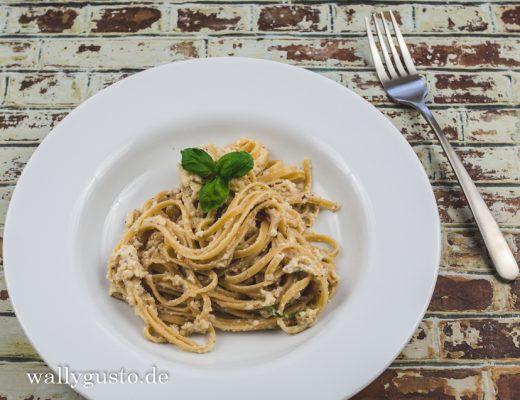 Blumenkohl-Pesto mit Haselnüssen | Rezept auf www.wallygusto.de