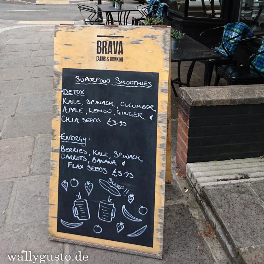 Frühstücki im Brava in Cardiff | Wales