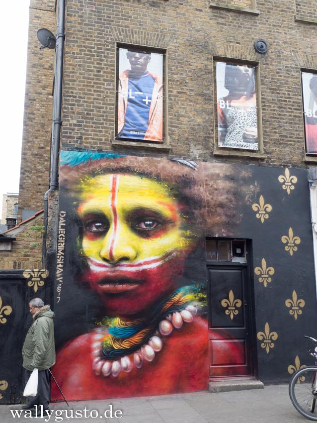 Brick Lane - London & seine Sehenswürdigkeiten