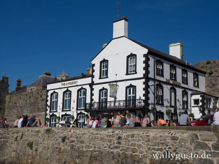 The Anglesey Arms in Caernarfon - Travel Guide | Travel Guide | Travel Guide Snowdonia Nationalpark
