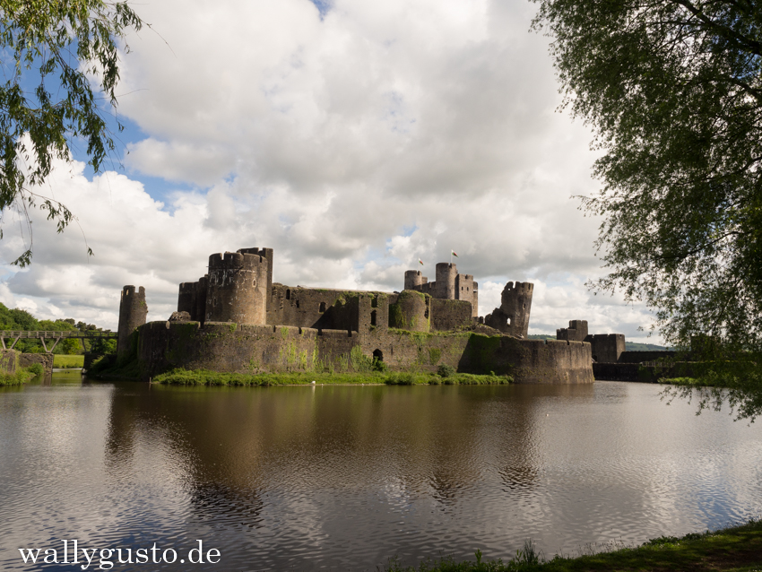 Caerphilly Castle | Wales