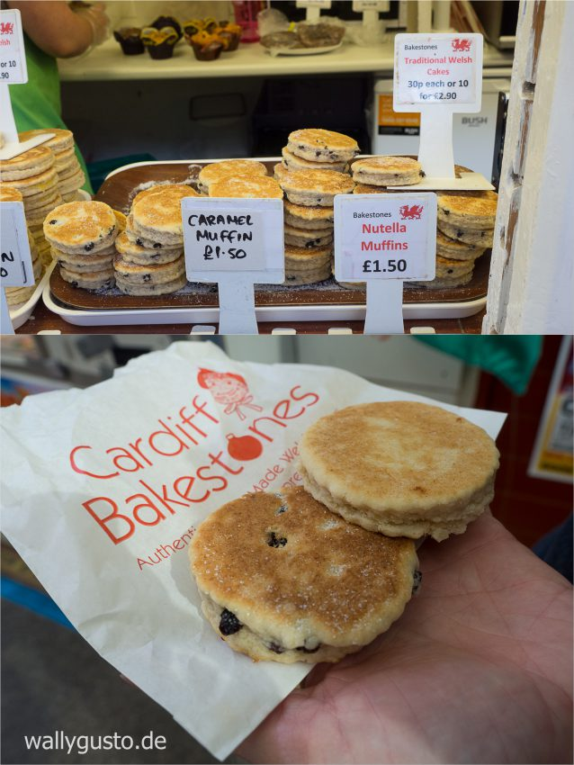 Welsh Cakes bei Cardiff Bakestones | Wales