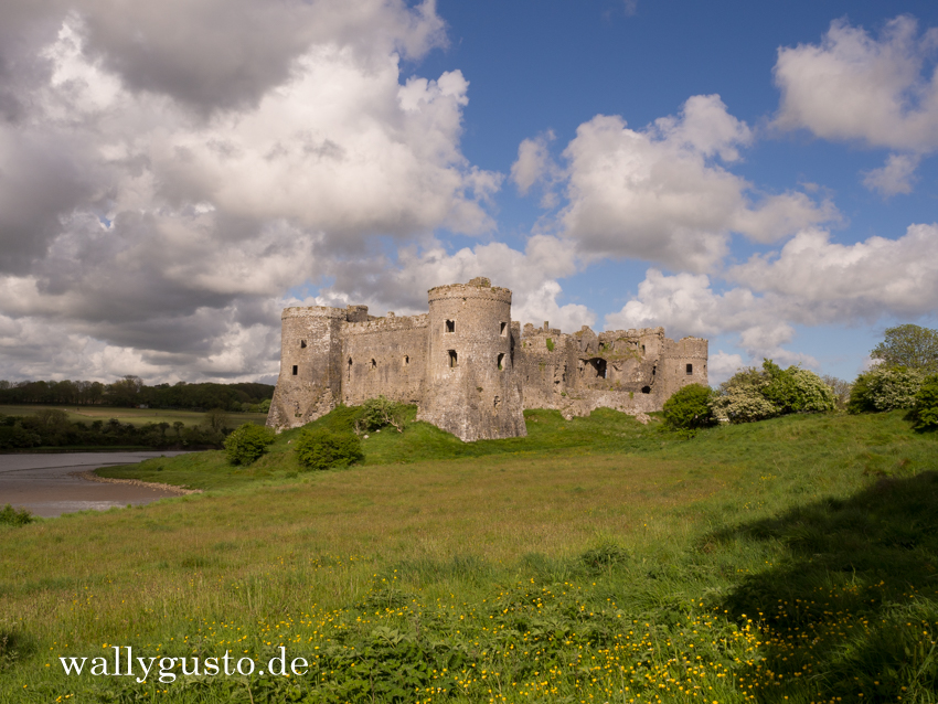 Carew Castle - Travel Guide | Pembrokeshire Coast Nationalpark