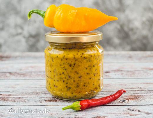 Chili-Honig-Senf | Rezept auf www.wallygusto.de