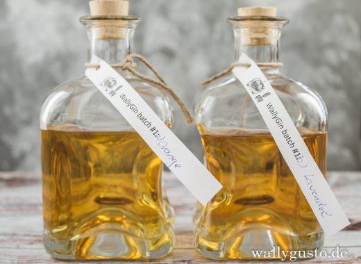 Compound Gin selbst anzusetzen Anleitung auf www.wallygusto.de