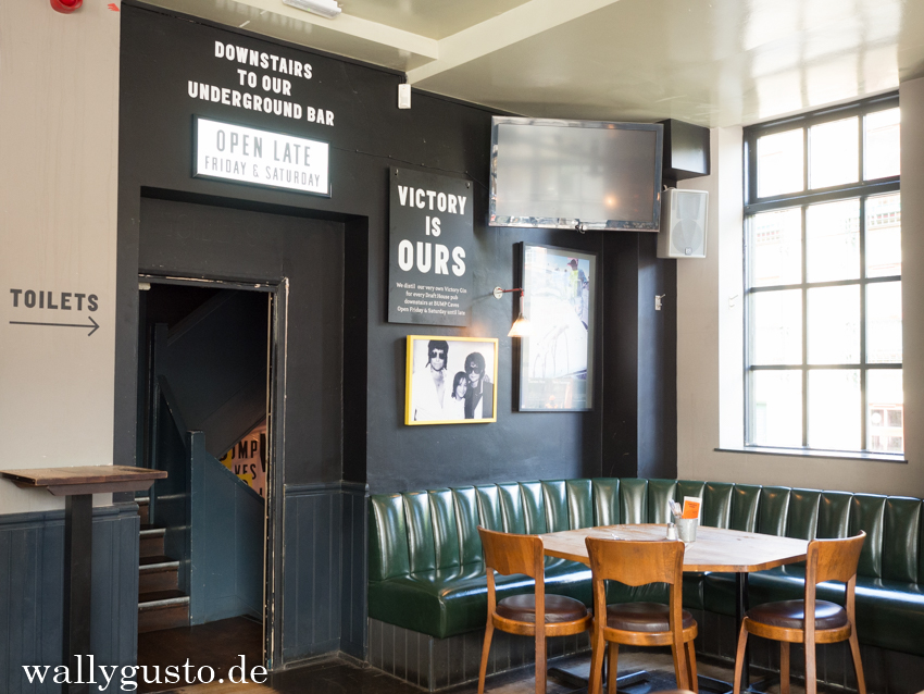 Burger essen im Draft House | London kulinarisch