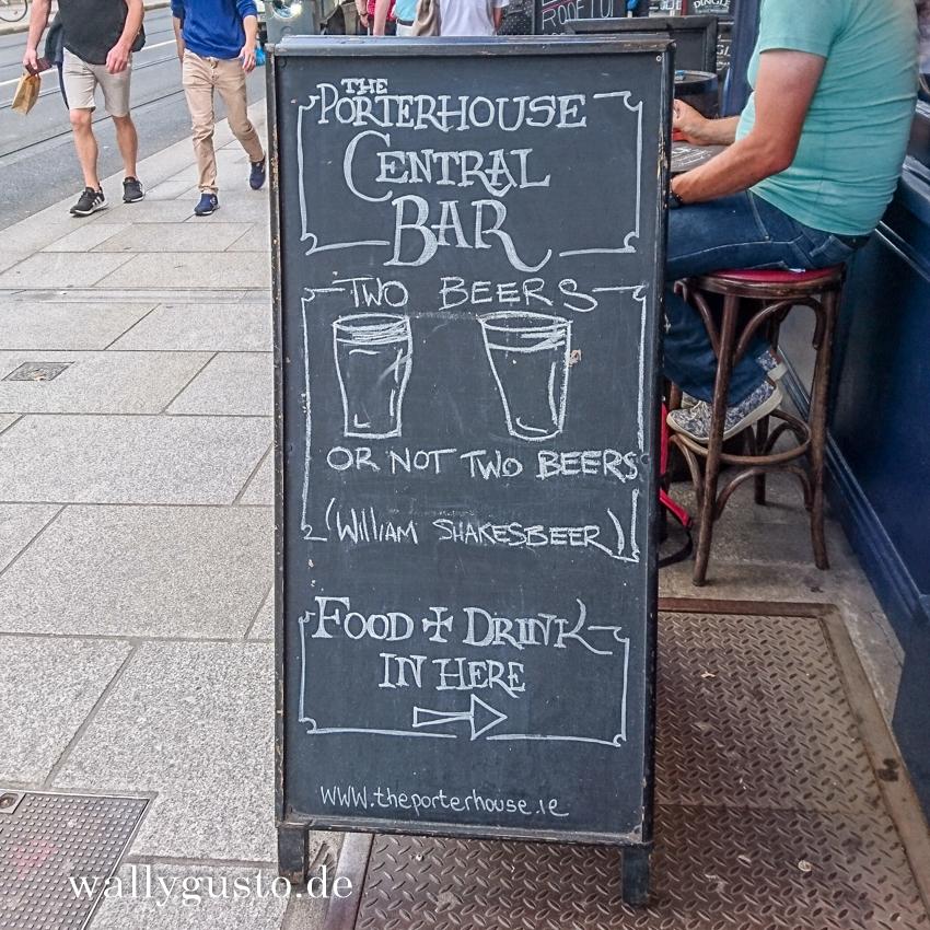 Dublin kulinarisch – Craftbier trinken Im Porterhouse
