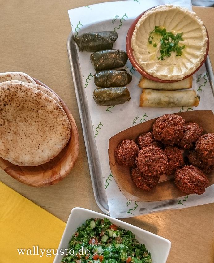 Dublin kulinarisch – Falafel bei Umi Falafel