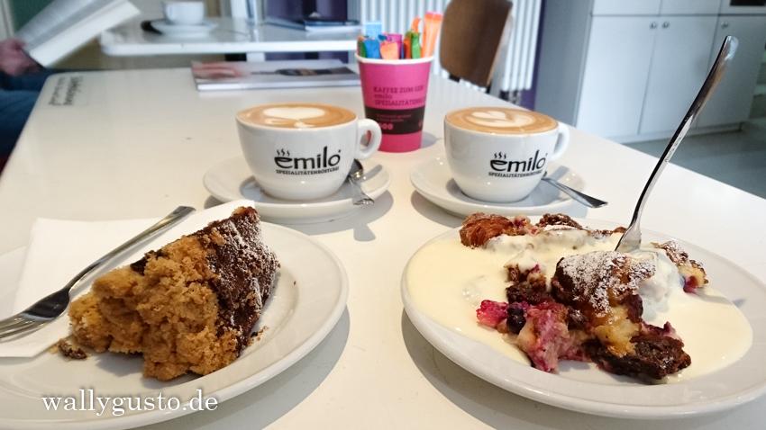 Emilo Cafe Westend | Schwanthalerhöhe - Marmorkuchen (fast) wie bei Oma!