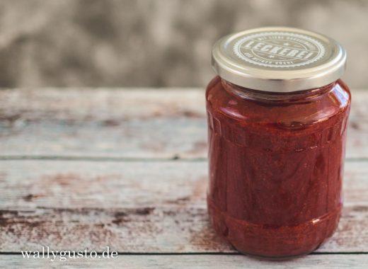 Erdbeer-Balsamico-Marmelade mit Vanille | Rezept auf www.wallygusto.de