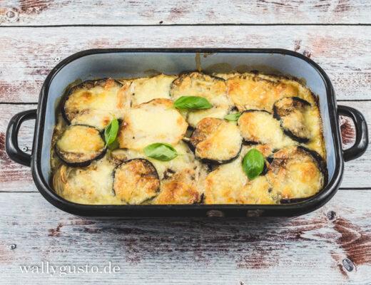 Fenchel-Auberginen-Lasagne à la Jamie Oliver | Rezept auf www.wallygusto.de
