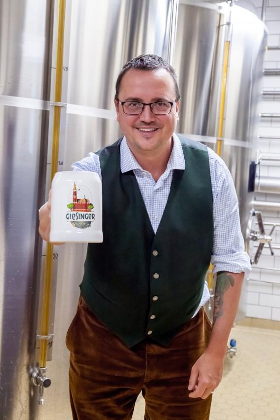 Steffen Marx, Gründer und Geschäftsführer der Giesinger Biermanufaktur und Spezialitäten Braugesellschaft mbH