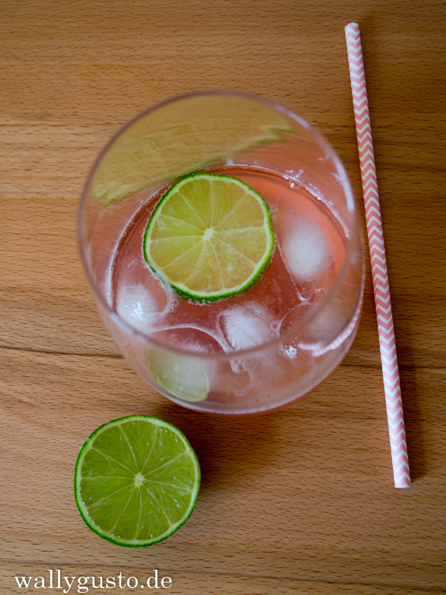 Gin & Tonic Rhabarber