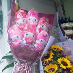Unterwegs in Hongkong - Auf dem Flower Market gibt es auch viel, viel Kitsch