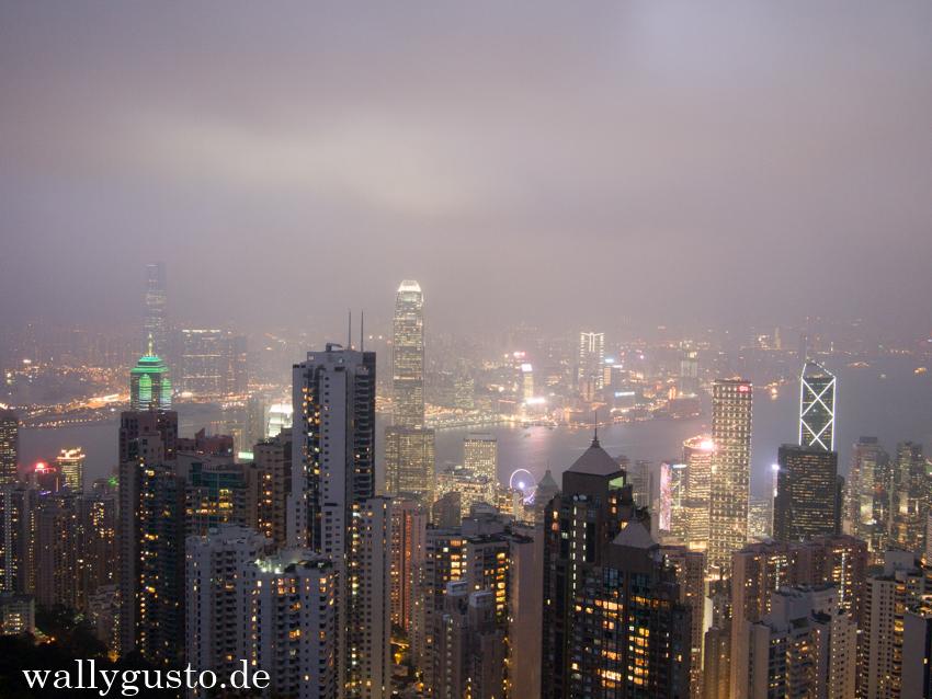 Hongkong - Blick vom Peak