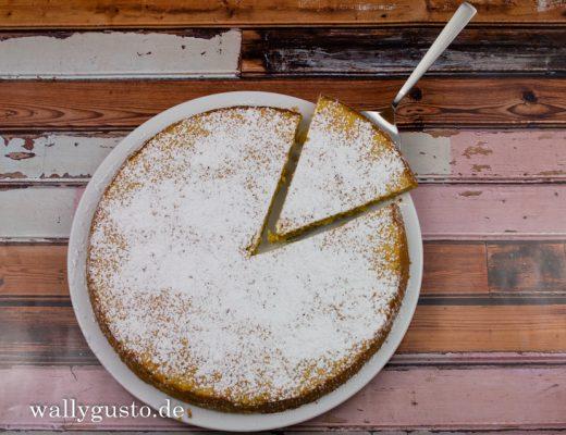 Italienischer Karottenkuchen - TORTA Dl CAROTE - nach einem Rezept von Melissa Forti