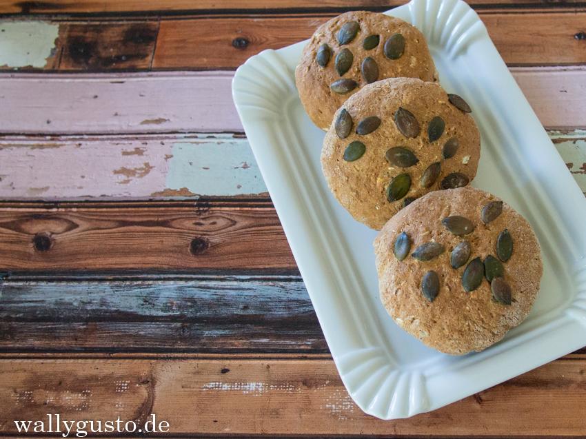 Kerne-Samen-Brötchen | Brot-Brötchen | Buchvorstellung | www.wallygusto.de