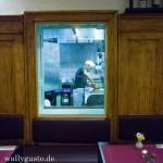 Lamora München - Blick auf den Steinofen