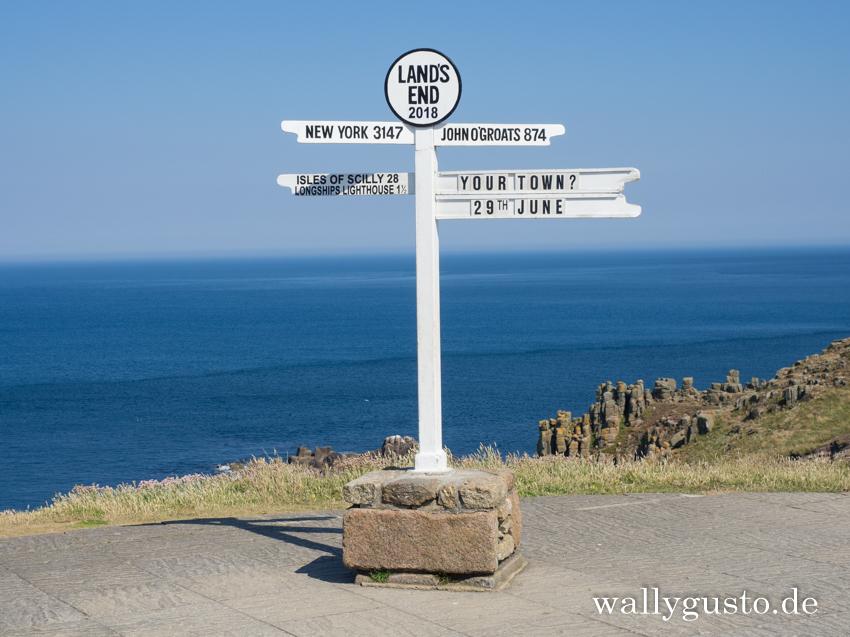 Land's End | Travel Guide Penwith-Halbinsel auf www.wallygusto.de