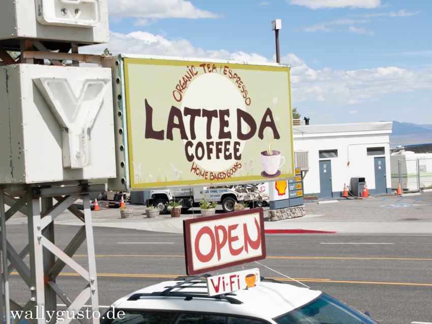 Latte Da Coffee Cafe in Lee Vining, Kalifornien