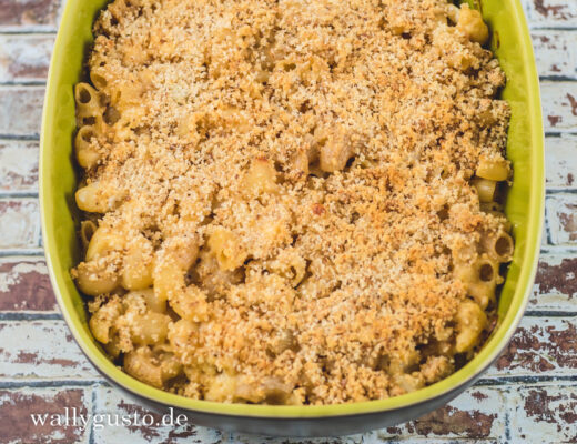 Mac and Cheese mit Blumenkohl | Rezept auf www.wallygusto.de