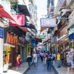 In den Gassen von Macau