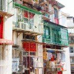 Wohnhaus auf Macau