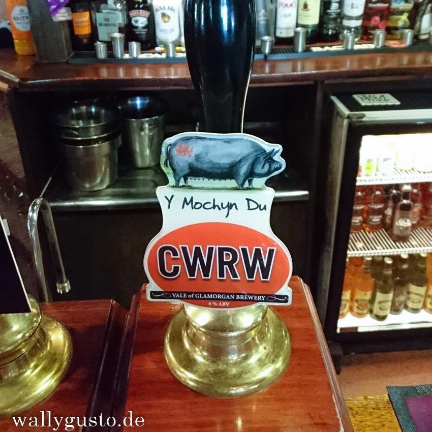 Das gälisch Pub Mochin Du in Cardiff | Wales