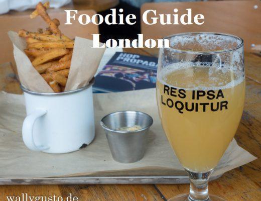 London Foodie Guide für Vegetarier