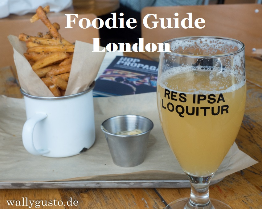 London Foodie Guide für Vegetarier