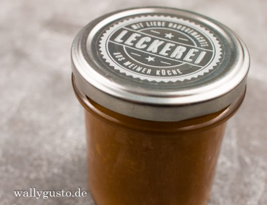 Quitten-Marmelade mit herbstlichen Gewürzen | Rezept auf www.wallygusto.de