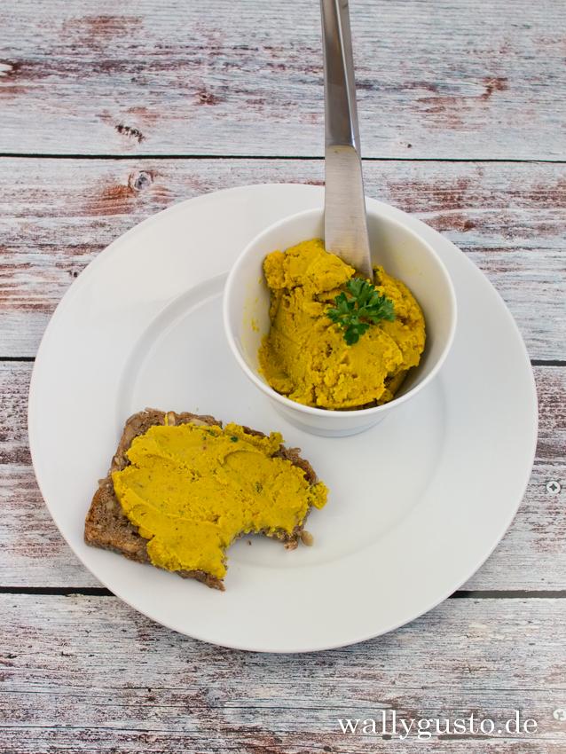 Rote Linsen-Aufstrich mit Salzzitrone | Rezept auf www.wallygusto.de