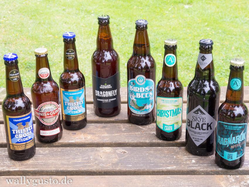 Schottisches Craft Beer