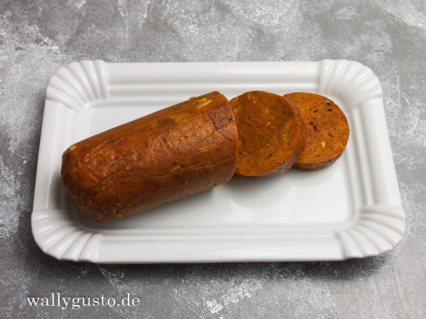 Seitanrolle für Seitan-Gulasch, Geschnetzeltes und andere vegane Köstlichkeiten