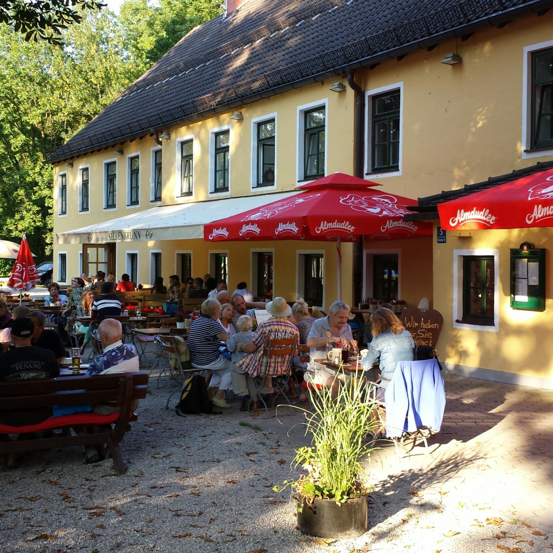 Siebenbrunn Gastgarten