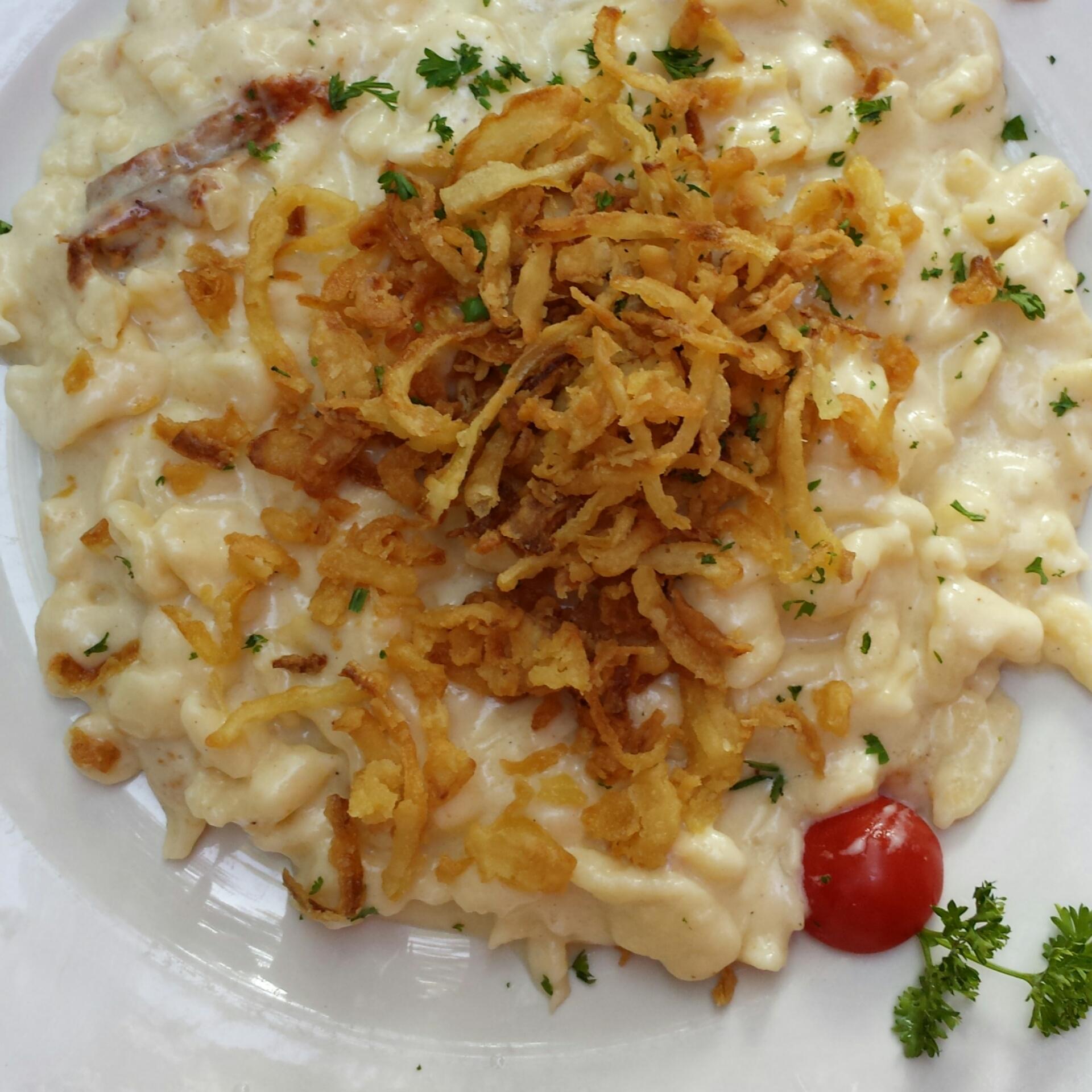 Siebenbrunn Käsespätzle