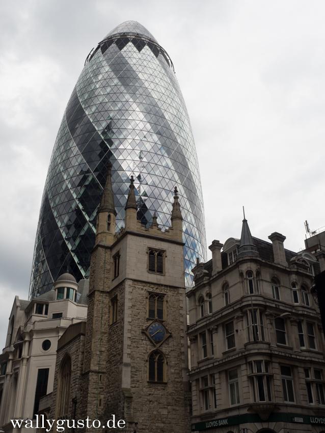 The Gherkin - London & seine Sehenswürdigkeiten
