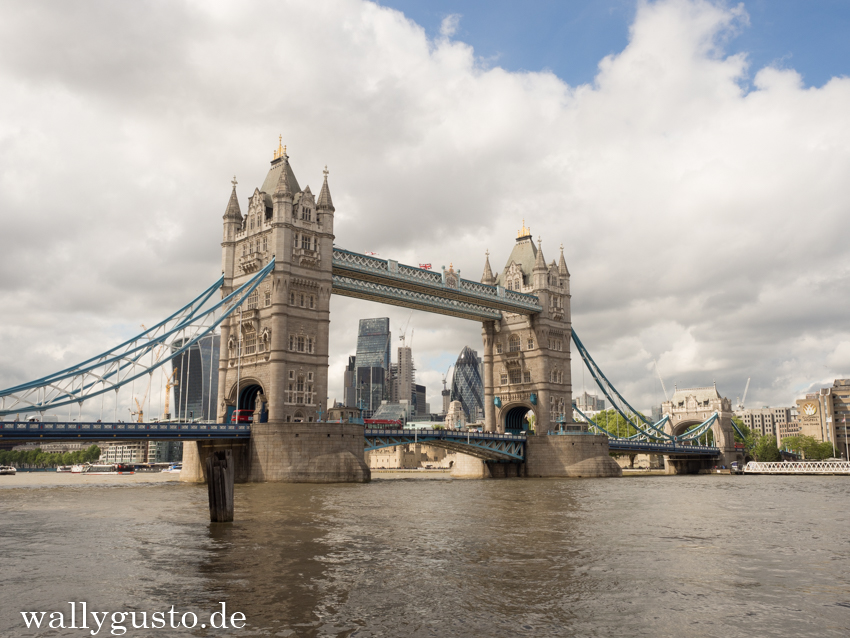 The Tower Bridge - London & seine Sehenswürdigkeiten